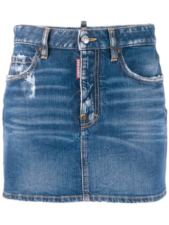 Dsquared2 Classic Mini Denim Skirt | Farfetch.com