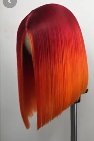 Red|Orange Wig