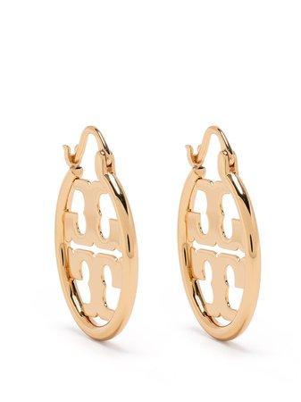 Tory Burch Miller Hoop Earrings - Farfetch