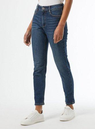 Indigo Mom Jeans