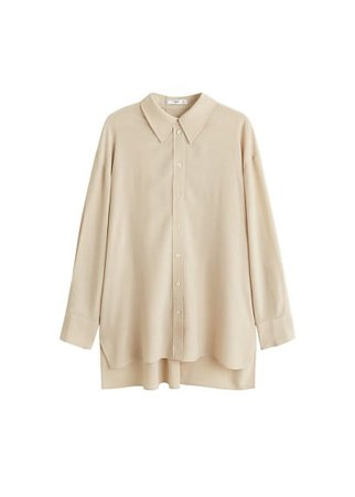 MANGO Oversized shirt