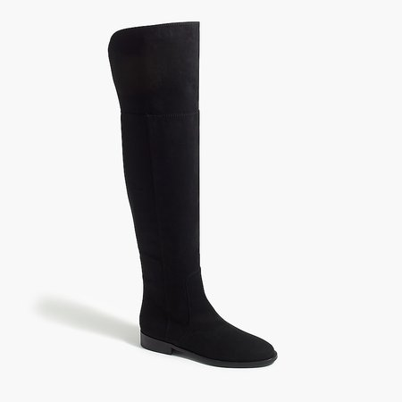 J.Crew Factory: Over-the-knee Microsuede Boots For Women