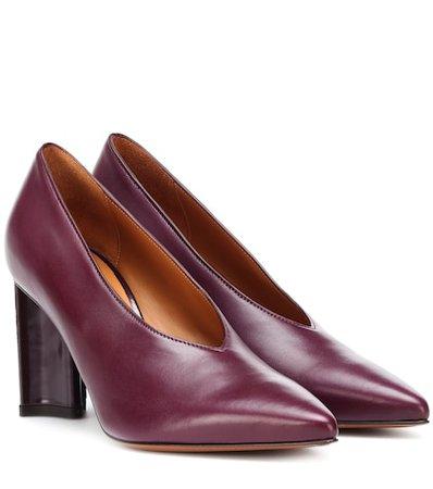 Kathleen leather pumps