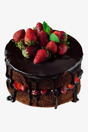 STRAWBERRY CHOCOLATE COATED SHORTCAKE
