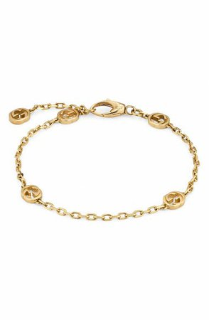 Gucci Running G 18K Gold Bracelet   Nordstrom