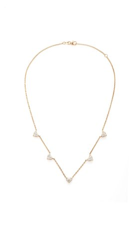 Shay 18K Rose Gold Diamond Necklace