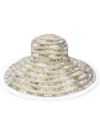 Missoni Mare Chapeau à Large Bord Et Effet Métallisé - Farfetch