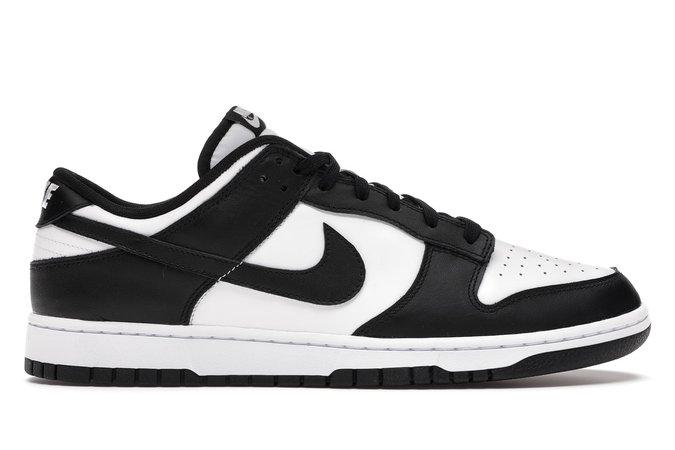 Nike Dunk Low Retro White Black (2021) - DD1391-100