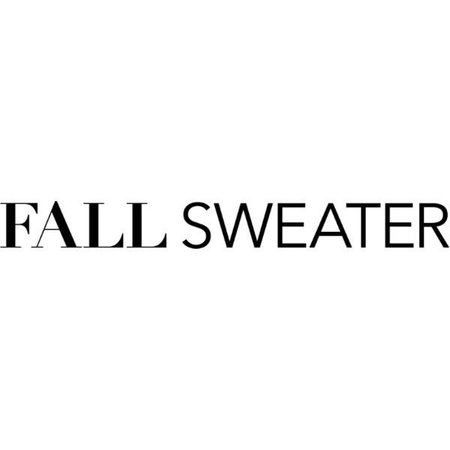 fall sweater text