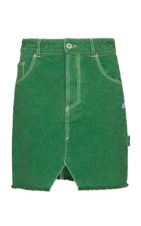 Cotton Workwear Denim Skirt by Heron Preston | Moda Operandi
