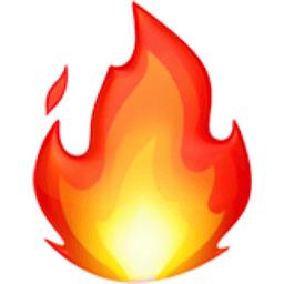 Fire Emoji (U+1F525)