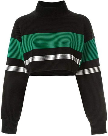 Green and Black Sweater