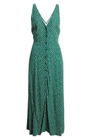 Reformation Luke Sleeveless Midi Dress | Nordstrom