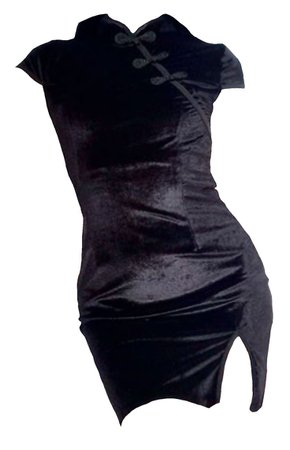 dress (black)