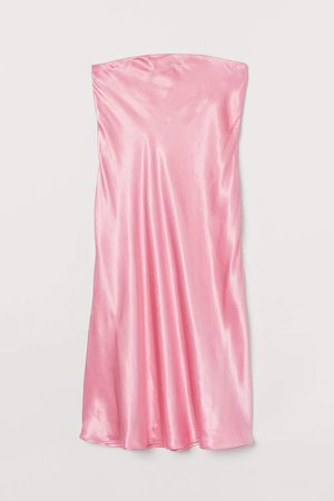 MAMA Satin Skirt - Pink