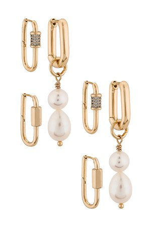 8 Other Reasons 125 Earring Pack in Gold | REVOLVE