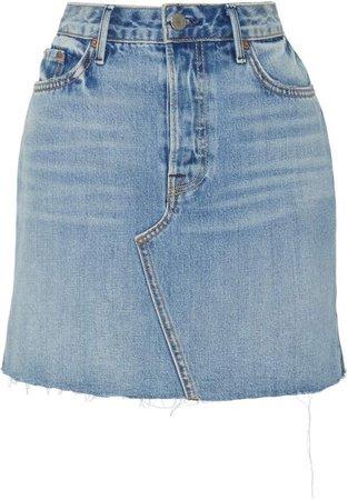 GRLFRND Denim Blaire Denim Mini Skirt