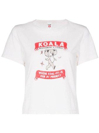Camiseta con estampado Adopt a koala RE/DONE por 140€ - Compra online SS21 - Devolución gratuita y pago seguro