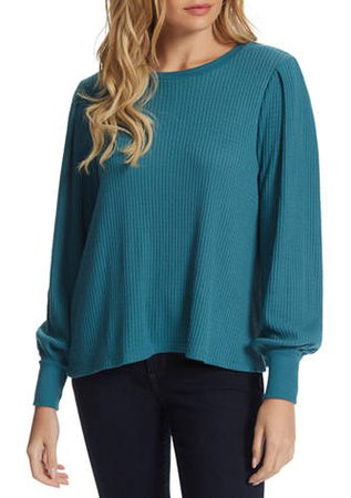 TrJessica Simpson Wilder Waffle Knit Top