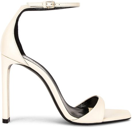 Bea Ankle Strap Sandals in Pearl | FWRD