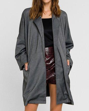 Grey Lab Oversized Coat
