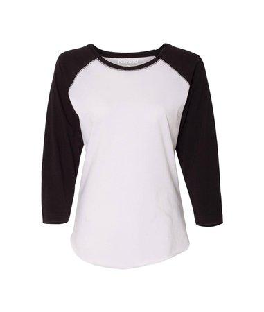 Night & Day Women's Baseball Tee | Women Soft T Shirts