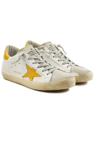 Super Star Sneakers with Leather and Suede Gr. EU 39