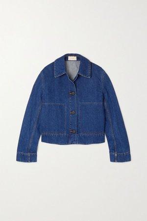 Blue Loes denim jacket | The Row | NET-A-PORTER
