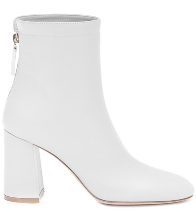 Hyder Leather Ankle Boots | Gianvito Rossi - Mytheresa