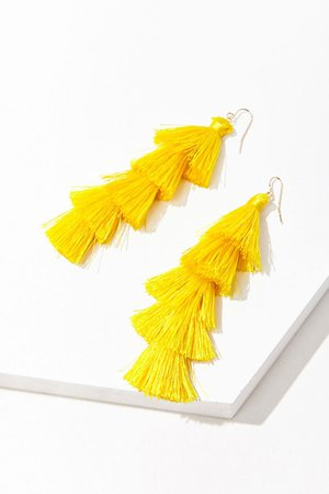 Tassel Drop Earrings | Forever 21