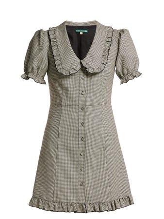 Puritan-collar babydoll dress   Alexachung   MATCHESFASHION.COM UK