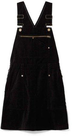Chenille Mini Dress - Black