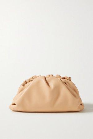 Bottega Veneta | The Pouch small gathered leather clutch | NET-A-PORTER.COM