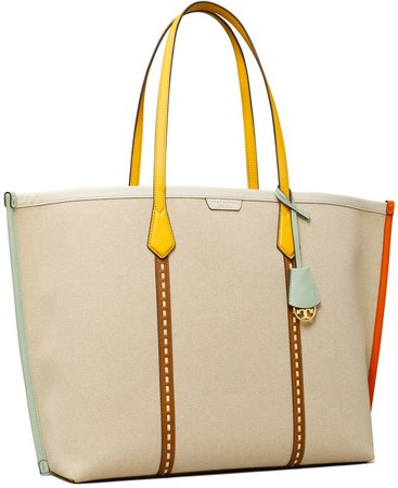 Perry Canvas Oversized Tote Bag