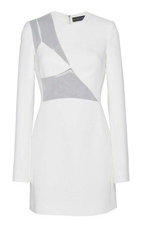 David Koma Asymmetrical Cutout Mini Dress