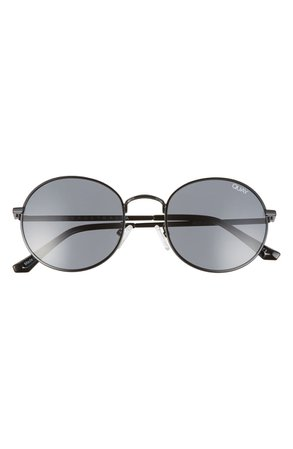 Quay Australia 50mm Mod Star Round Sunglasses | Nordstrom