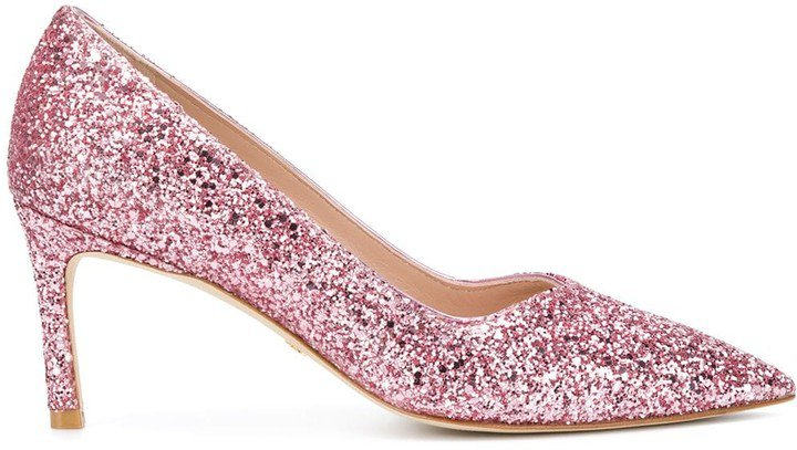 Glittered Pumps