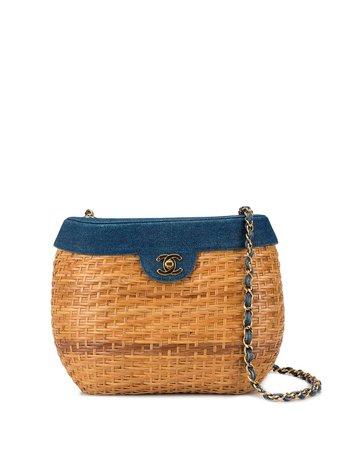 Chanel Pre-Owned 2000 Case Chain Shoulder Bag Vintage | Farfetch.com