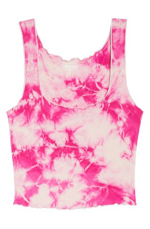 Year of Ours Lettuce Edge Crop Tank | Nordstrom