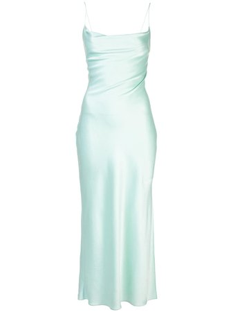 Alice+Olivia Harmony cowl slip dress green CC002084512 - Farfetch