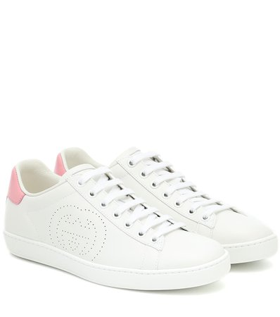 Gucci - Ace leather sneakers | Mytheresa