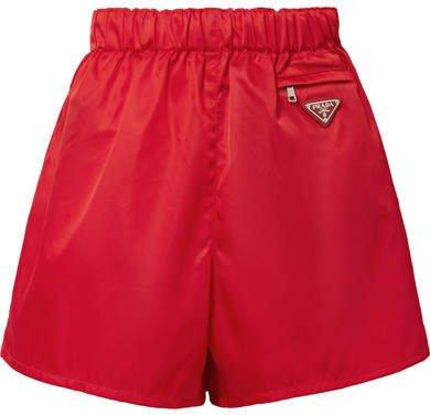 Nylon Shorts - Red