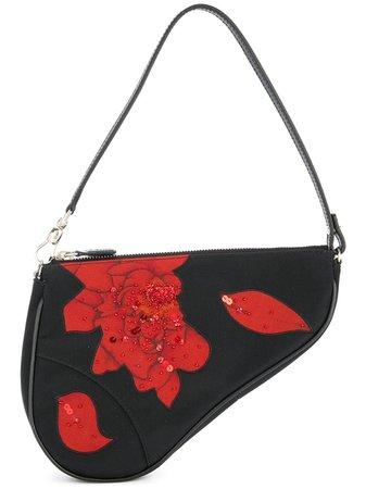 Christian Dior pre-owned Saddle Beads Spangle Bag - Farfetch