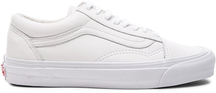 Leather OG Old Skool LX in White | FWRD