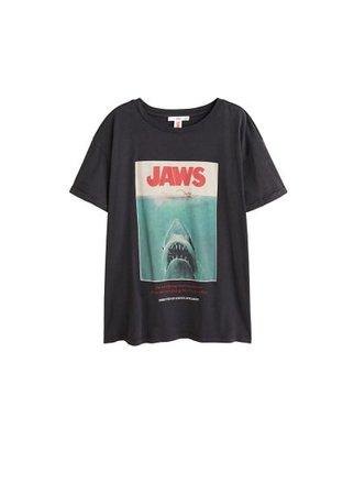 MANGO Jaws t-shirt