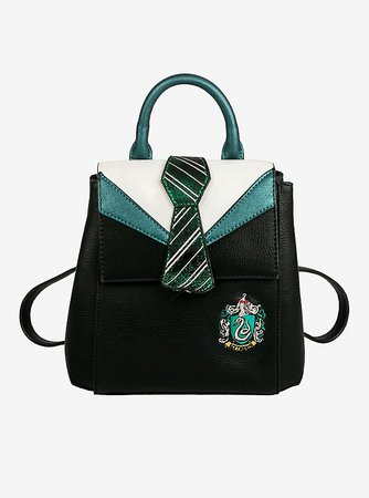 Danielle Nicole Harry Potter Slytherin Uniform Mini Backpack Green