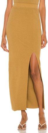 Arizia Slit Maxi Skirt
