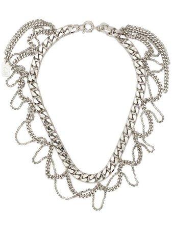 Collar corto con cadena barbada Nº21 por 150€ - Compra online SS21 - Devolución gratuita y pago seguro