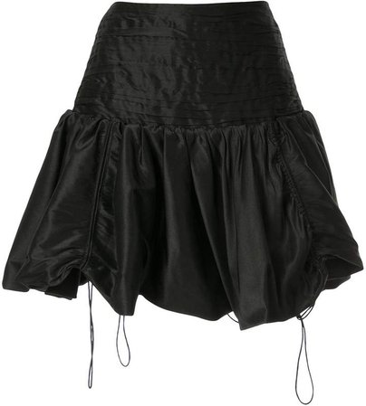 Aje Dalia bubble mini skirt