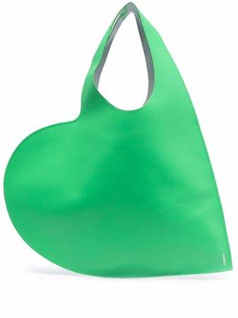 Coperni heart-shaped Leather Tote Bag - Farfetch